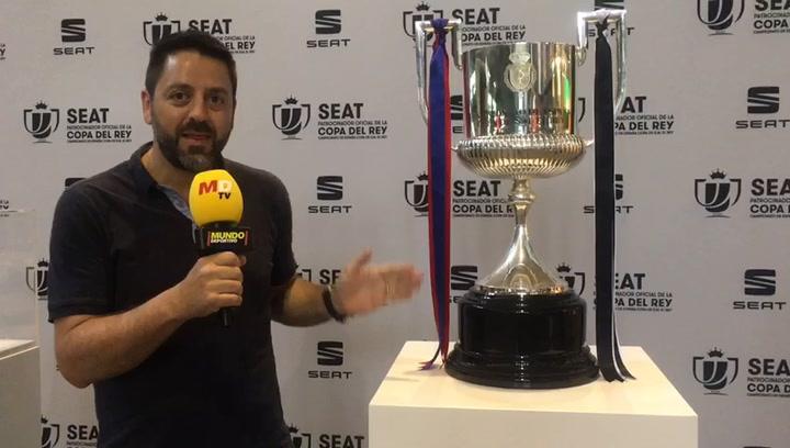 La Copa del Rey ya está expuesta en Santa Justa