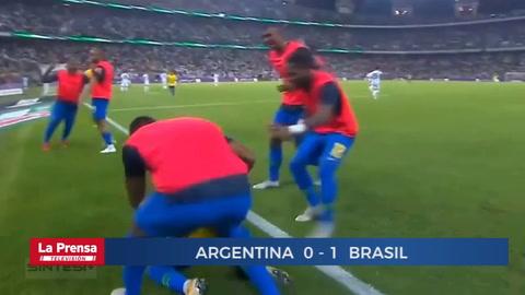 Argentina 0 -1 Brasil (Amistoso Internacional)