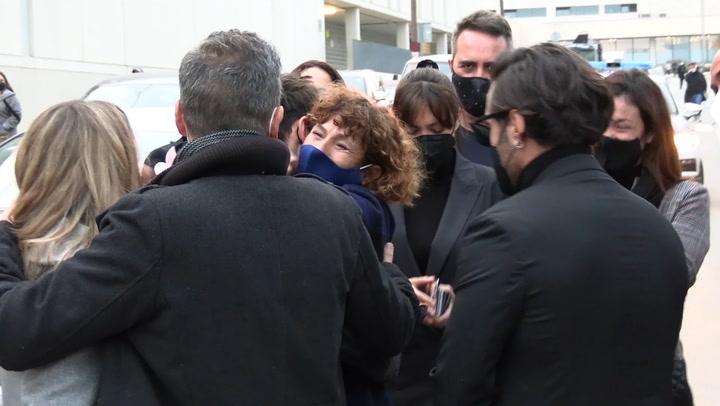 \'Siempre le recordaremos\': los compañeros de Álex Casademunt en OT vuelven a casa tras un día muy difícil