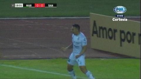 Marathón 0-3 Santos FC (Liga CONCACAF 2019)