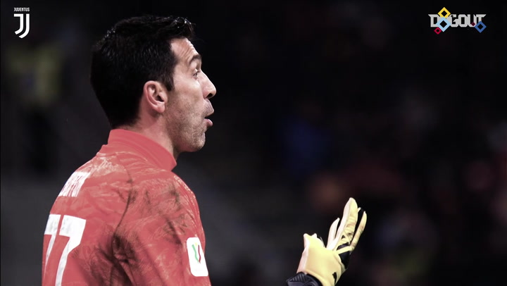 Buffon's heroic performance against Milan