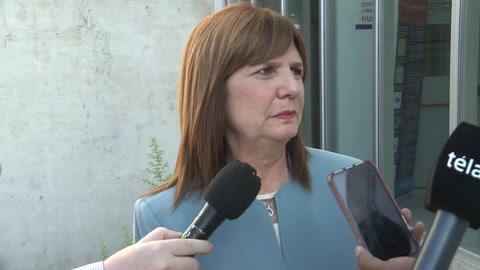 Bullrich dijo que no es tiempo de peleas entre la Justicia de Santa Fe y la federal