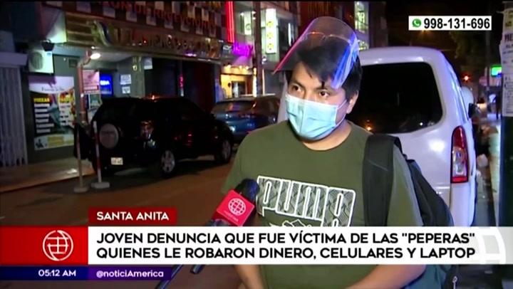 Fue a discoteca para asistir a 'fiesta covid' y ahora denuncia que 'peperas' le robaron 10 mil soles, laptop y su celular