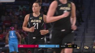 Las Vegas Aces vs Atlanta Dream highlights