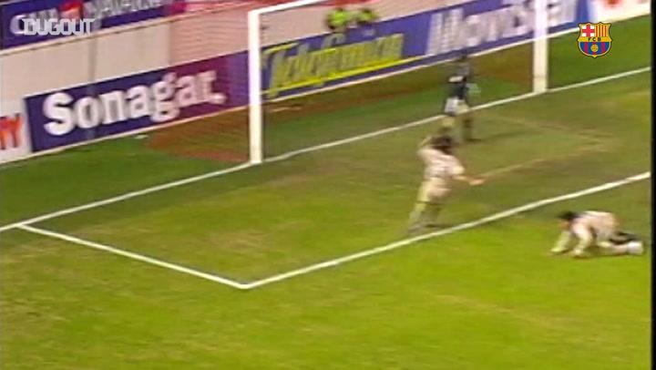 Incredible Goals: Ronaldinho Vs Osasuna