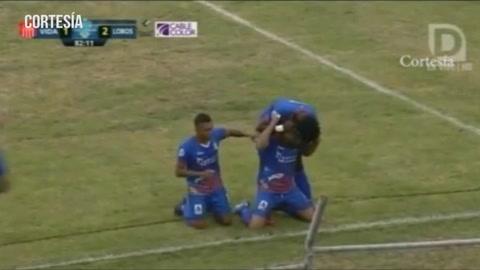 UPNFM esta ganando  1-2 ante el Vida en el estadio Ceibeño