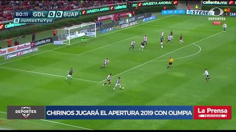 Michaell Chirinos jugará el apertura 2019 con Olimpia