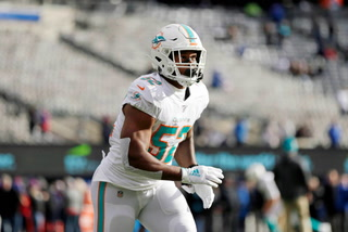 Raiders acquire Dolphins linebacker Raekwon McMillan in trade – VIDEO