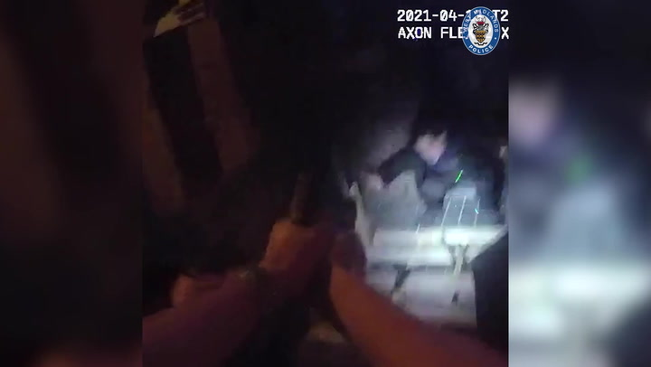 Police officer 'fears for his life' as suspect points 'gun' at face
