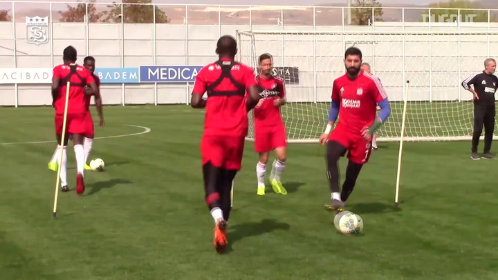 Sivasspor'da Ankaragücü mesaisi