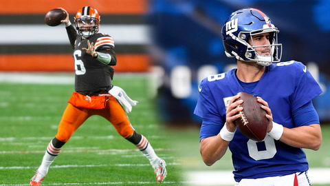 Does Baker Mayfield's third year improvement give hope for Daniel Jones?