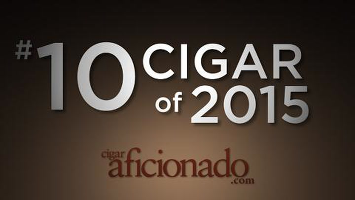 No. 10 Cigar of 2015