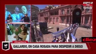 Mariano Closs no pudo contener las lágrimas al ver un video de Maradona con sus hijas
