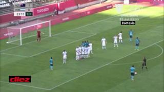 El terrible oso de Jorge Benguché; solo frente al marco y termina fallando el empate de Honduras