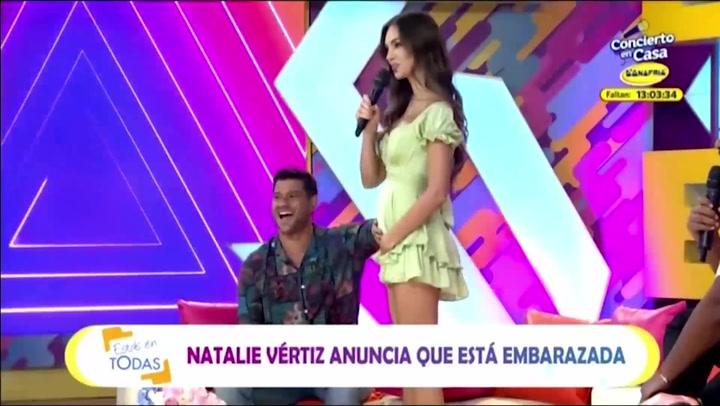 """Natalie Vértiz y Yaco Eskenazi anuncian que están esperando a su segundo bebé: """"¡Estamos embarazados!"""""""