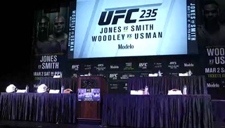 UFC 235 press conference