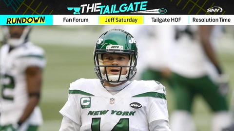 The Tailgate: ESPN NFL Analyst Jeff Saturday talks offensive lines and the Jets' options at QB