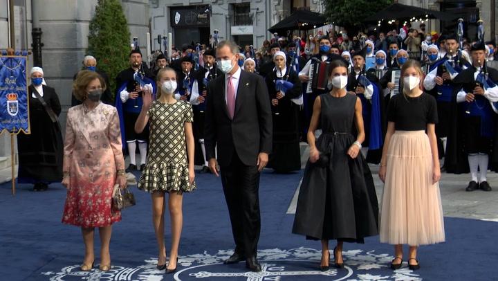 La princesa Leonor entrega los Premios Princesa de Asturias, su primera gran cita institucional desde que se marchó a Gales