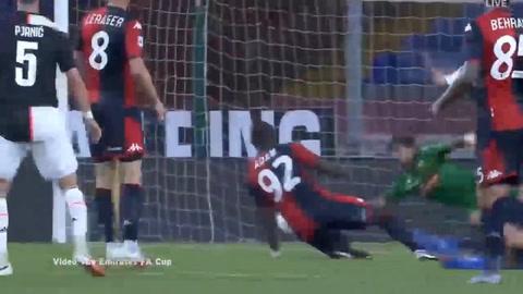 Génova 1-3 Juventus (Serie A)