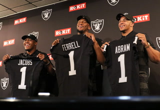 Raiders Rookies in 2019