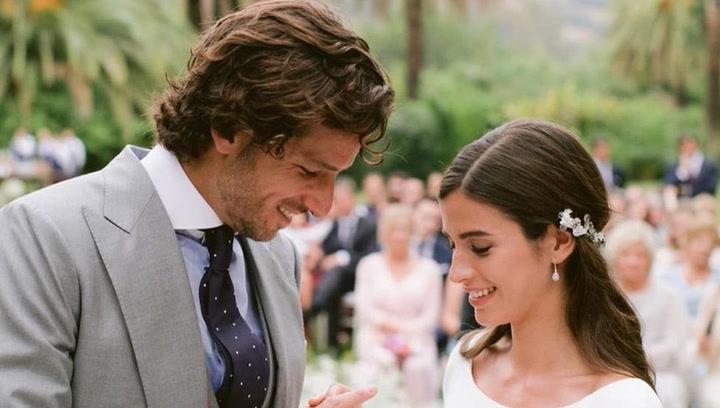 La boda de Feliciano López y Sandra Gago, desde dentro