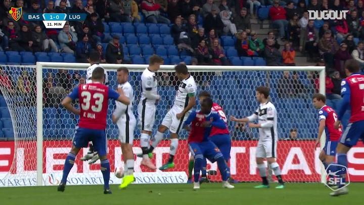 FC Basel 1893 best goals vs Lugano