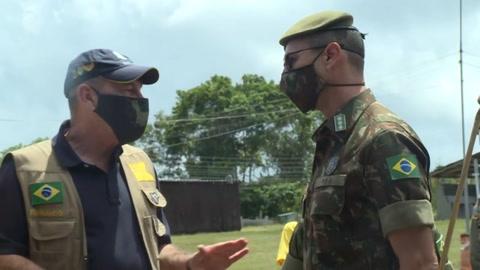 Fiscalía brasileña investiga misión militar contra covid-19 en tierras indígenas