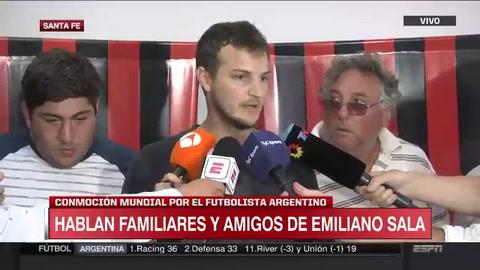 La familia de Emiliano Sala pidió que busquen el avión hasta las últimas consecuencias