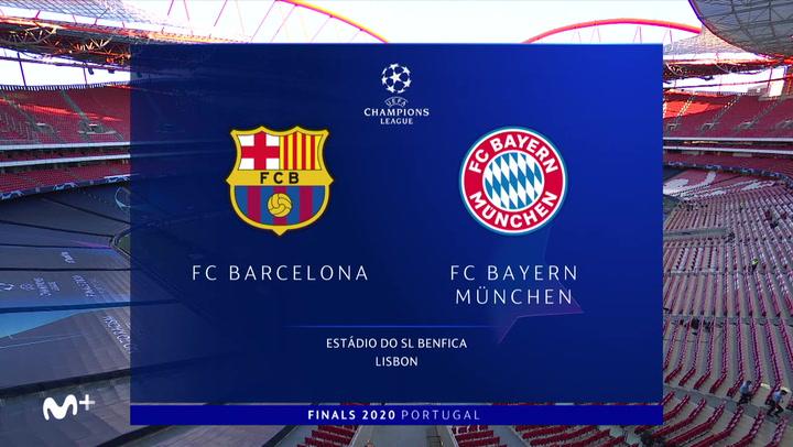 Champions League: Resumen y Goles del FC Barcelona - Bayern