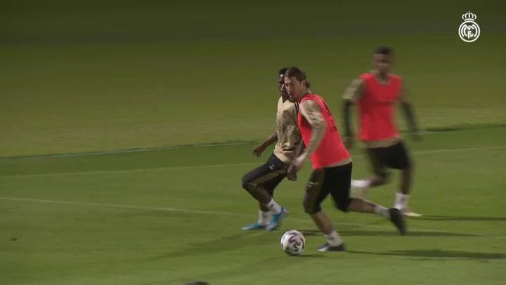 El Real Madrid de Zidane continúa preparando la final de la Supercopa de España