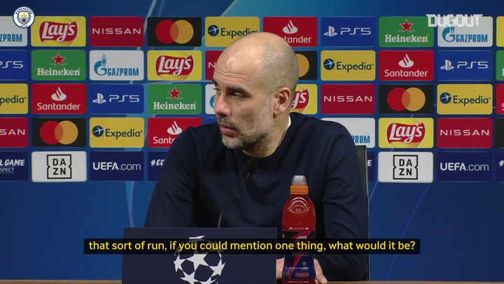Pep Guardiola on how Manchester City won 19 games in a row