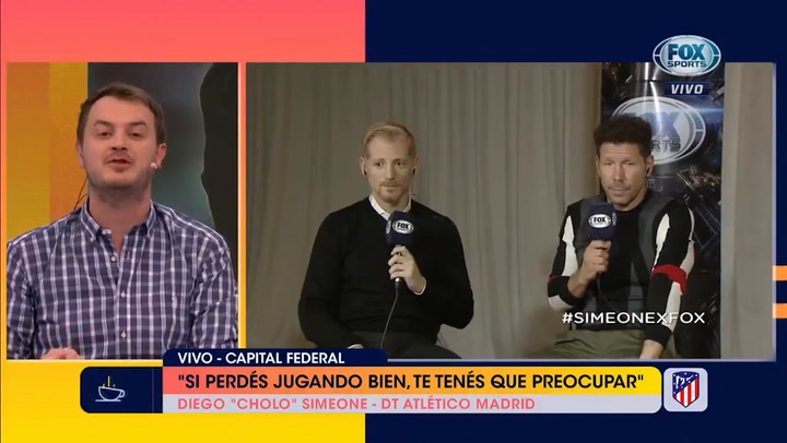 """Simeone sobre Lo Celso: """"Me gustan todos los jugadores importantes y él lo es"""""""