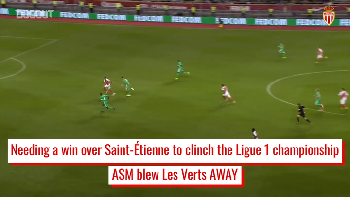 AS Monaco secure historic Ligue 1 title vs Saint-Étienne