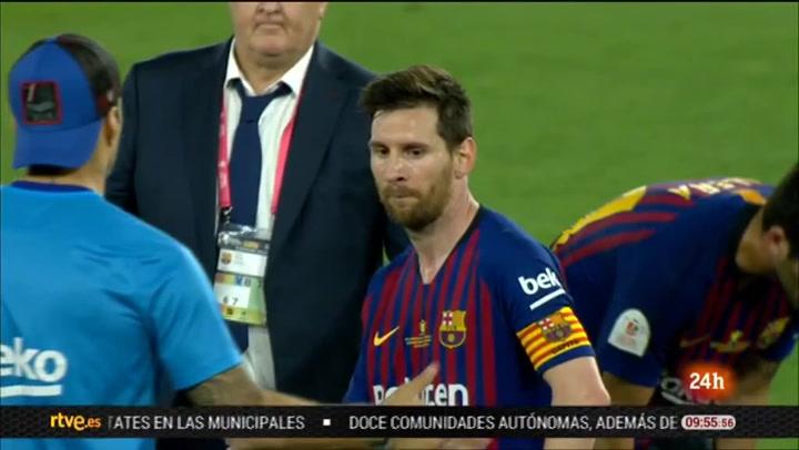 Final Copa de Rey: Resumen del partido FC Barcelona-Valencia (1-2)