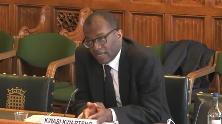 Watch live as Business secretary Kwasi Kwarteng is quizzed by MPs on rising gas prices