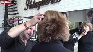 Slik har du aldri sett hår bli klippet før