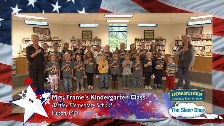 Bartley Elementary - Mrs. Frame - Kindergarten