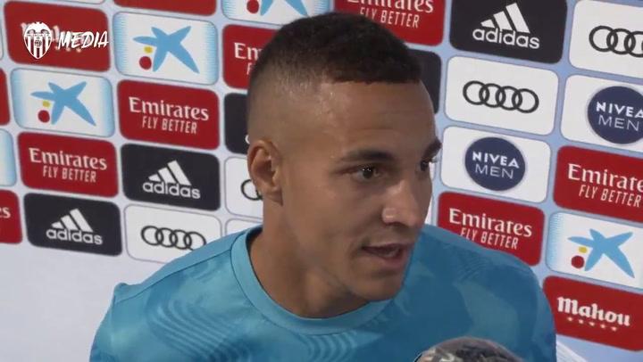 Rodrigo no entiende por qué se anuló su gol