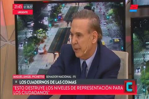 Pichetto adelantó que apoyará el pedido de allanamientos a Cristina Fernández