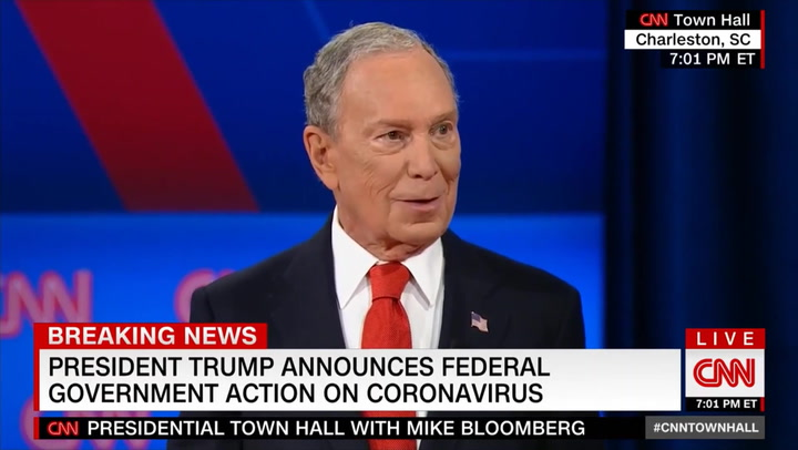 Bloomberg on Coronavirus: 'We Are as Exposed to This Kind of Thing as We've Ever Been'