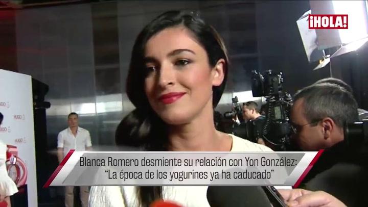 Blanca Romero: \'Me encantaría que mis hijos tuvieran un padre que estuviera con ellos\'
