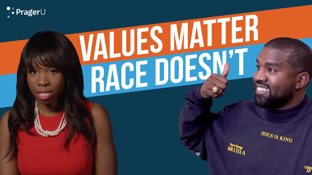 Values Matter. Race Doesn't.