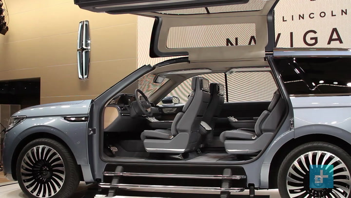 Lincoln S Navigator Concept Steals The Show With Massive Gullwing