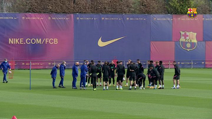 Messi, Ter Stegen y Coutinho, ausencias en el entrenamiento del Barça