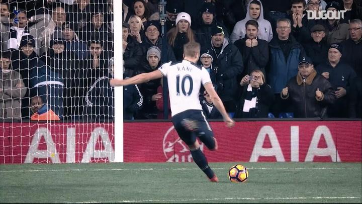 Harry Kane's goals against West Ham United