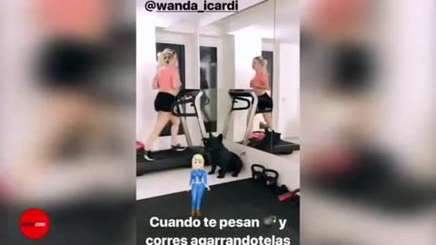 Mauro Icardi quedó un poco desubicado con un posteo en Instagram