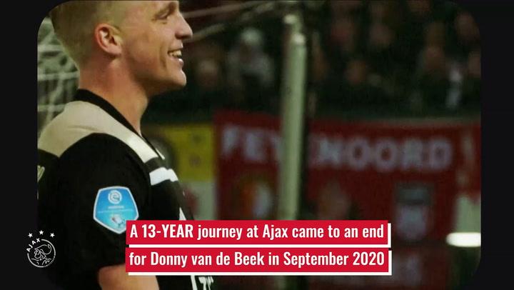 Donny van de Beek's journey from Ajax Juniors to Manchester United