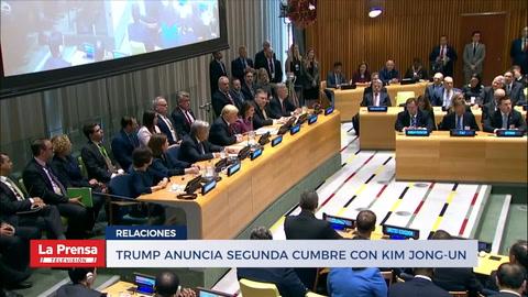 Trump anuncia segunda cumbre con Kim Jong-Un