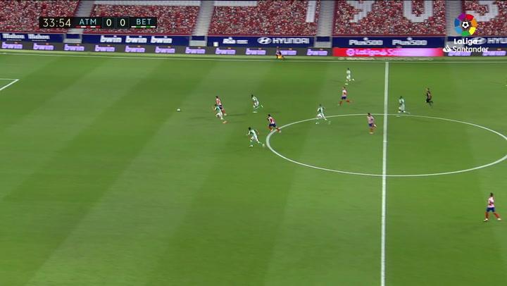 Gol anulado a Morata por fuera de juego