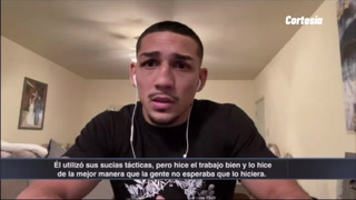 Los dardos de Teófimo López a Lomachenko tras sus excusas luego de perder la pelea